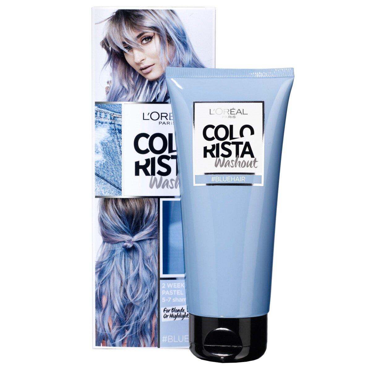 Geçici Saç Boyası 6 Blue