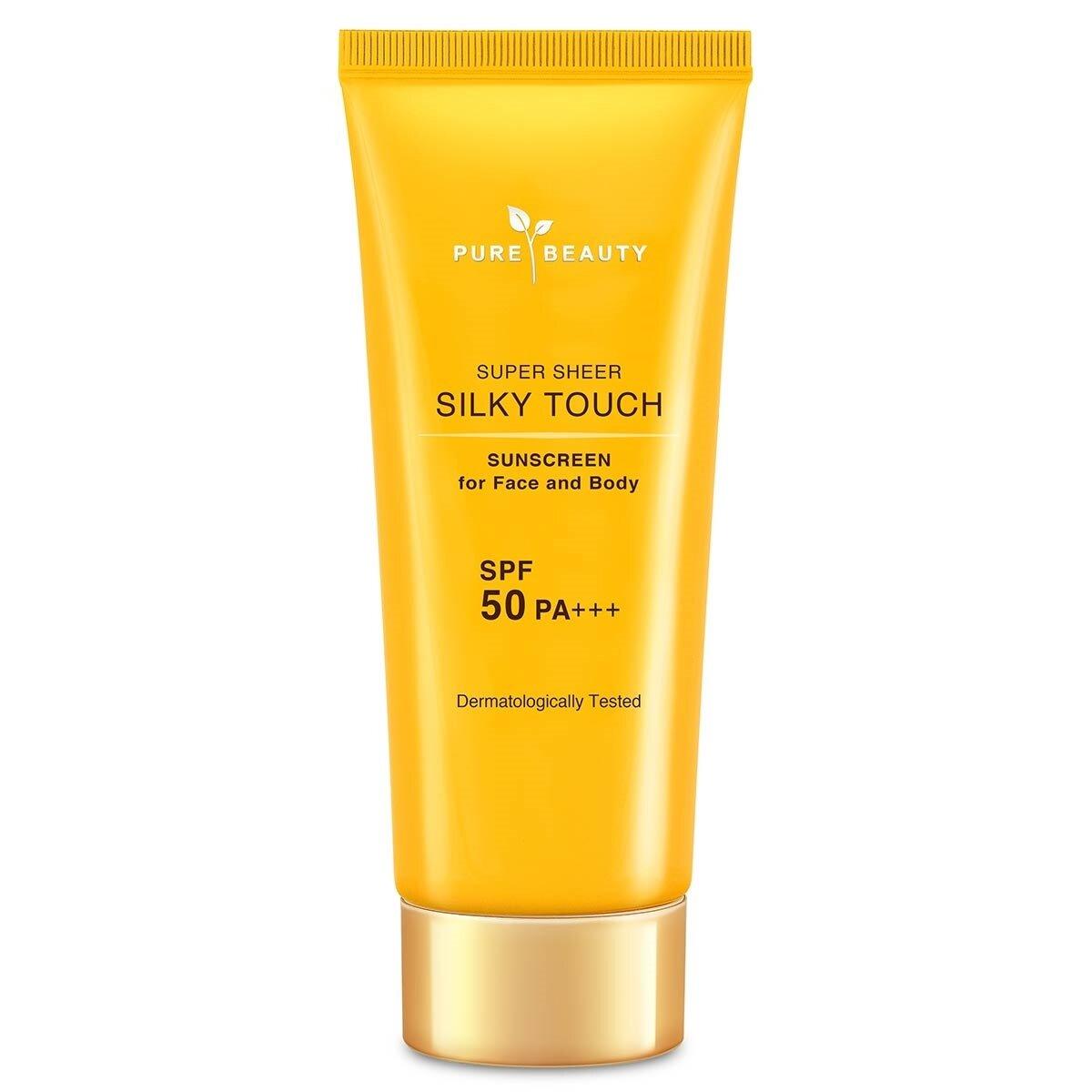 Silky Touch Güneş Kremi Yüz Vücut Spf 50+++ 90 Gr