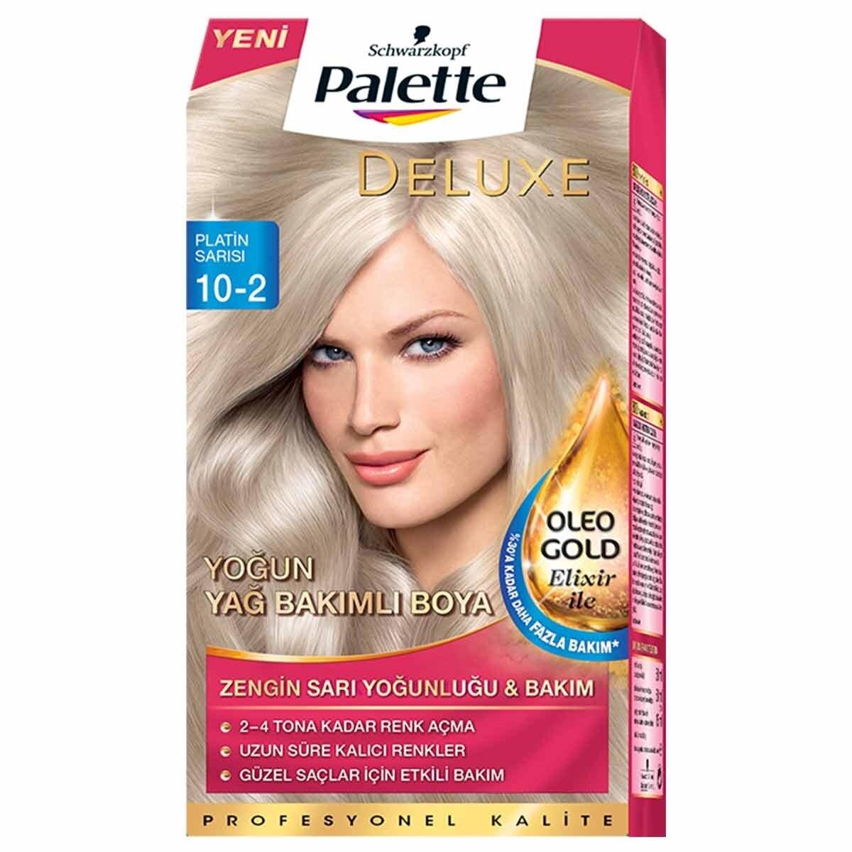 Deluxe Saç Boyası 10 2 Platin Sarı Palette Watsons