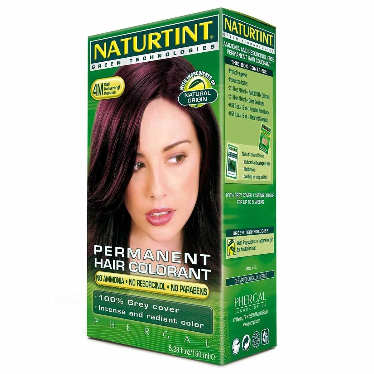 Doğal Saç Boyası Mahogany Chestnut 4M
