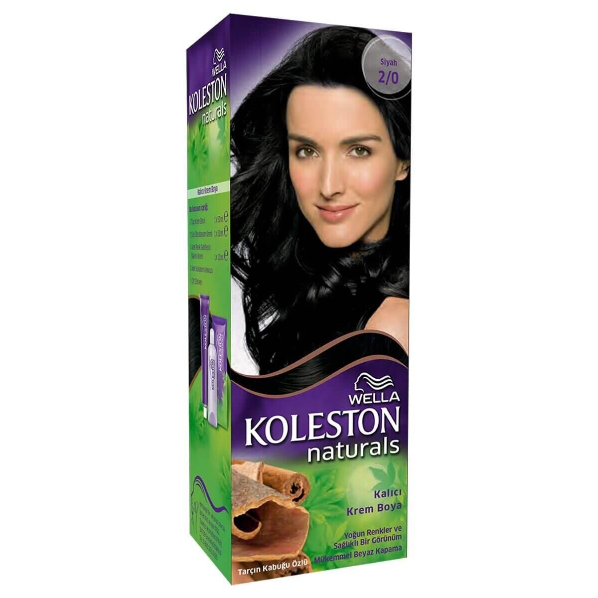 Koleston Naturals Siyah 2/0