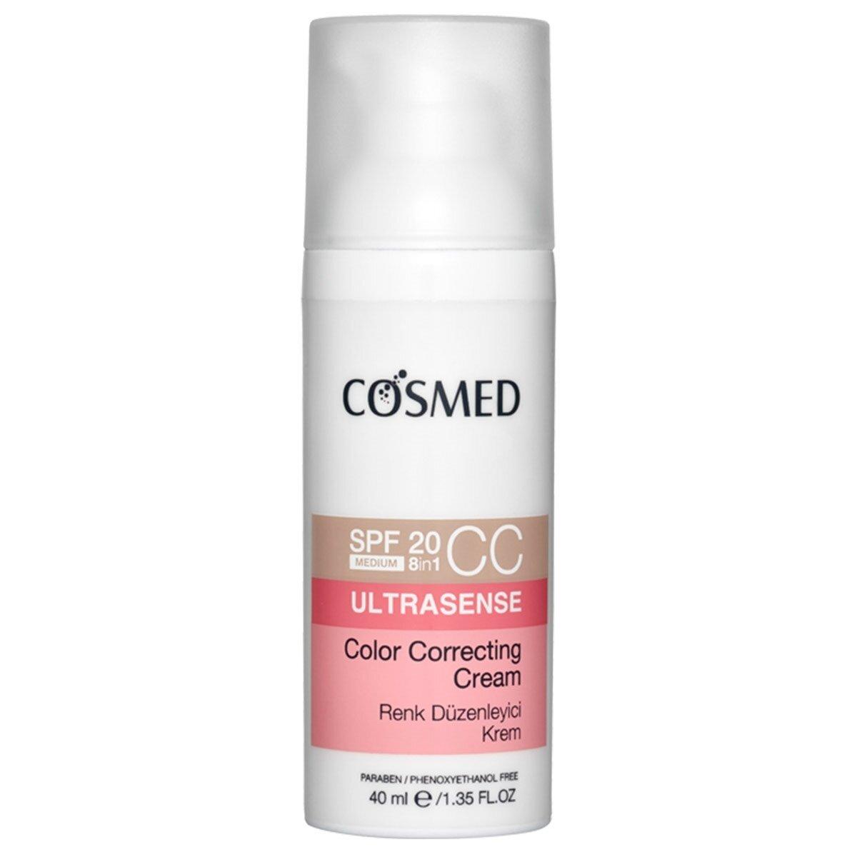 Ultrasense Renk Düzenleyici CC Krem Orta 40 ml