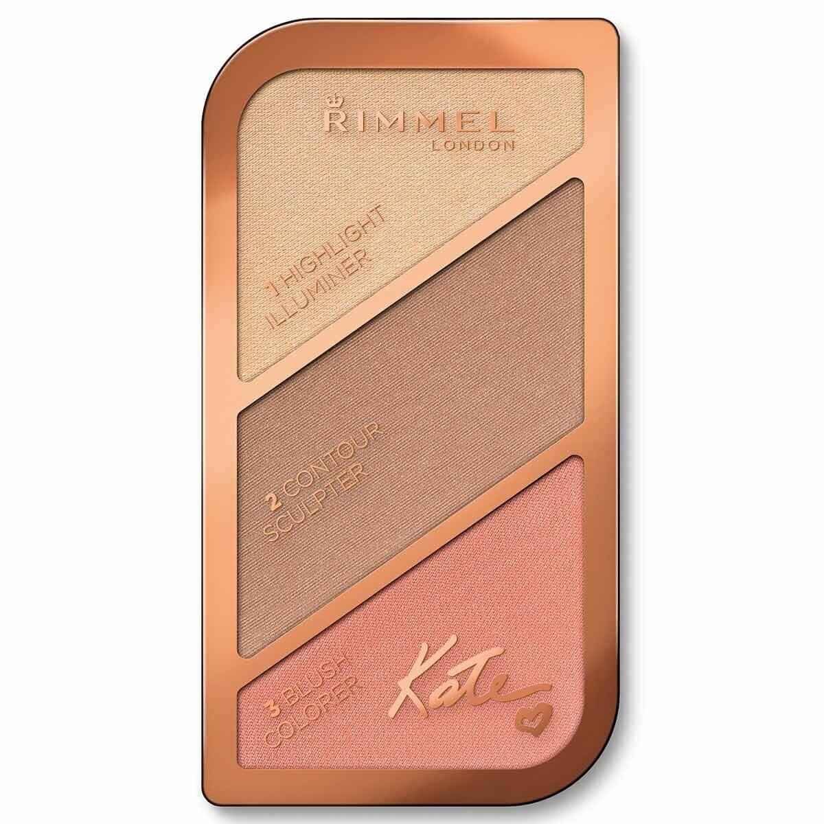 Kate Face Scalping Palette Kontür Paleti 002