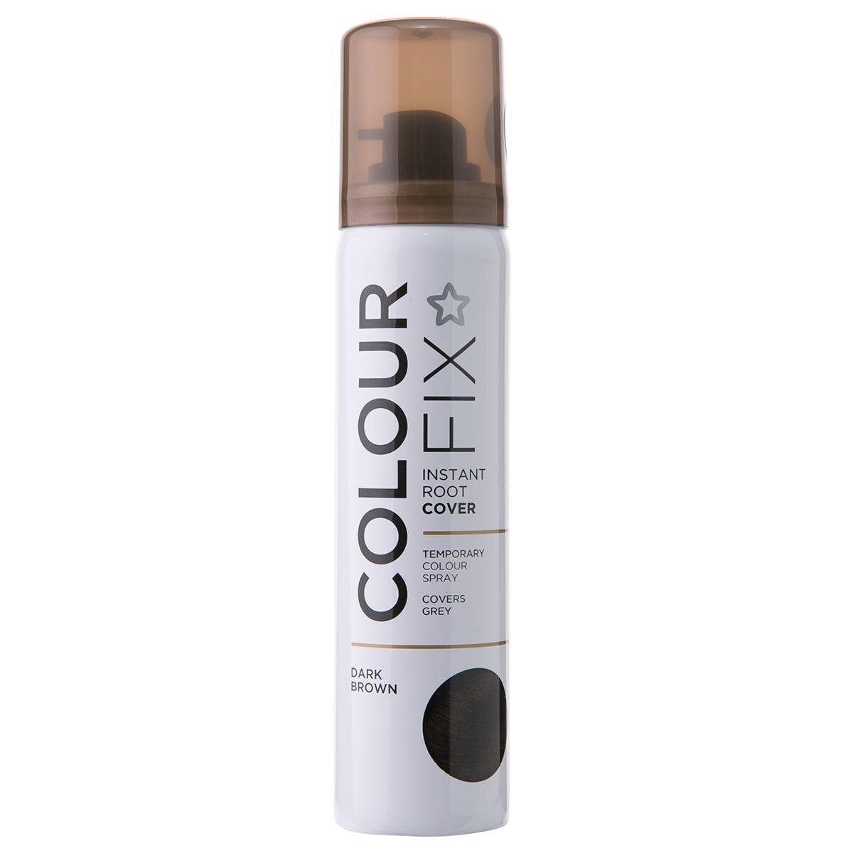 Colour Fix Geçici Sprey Dip Boya Koyu Kahve 75 ml