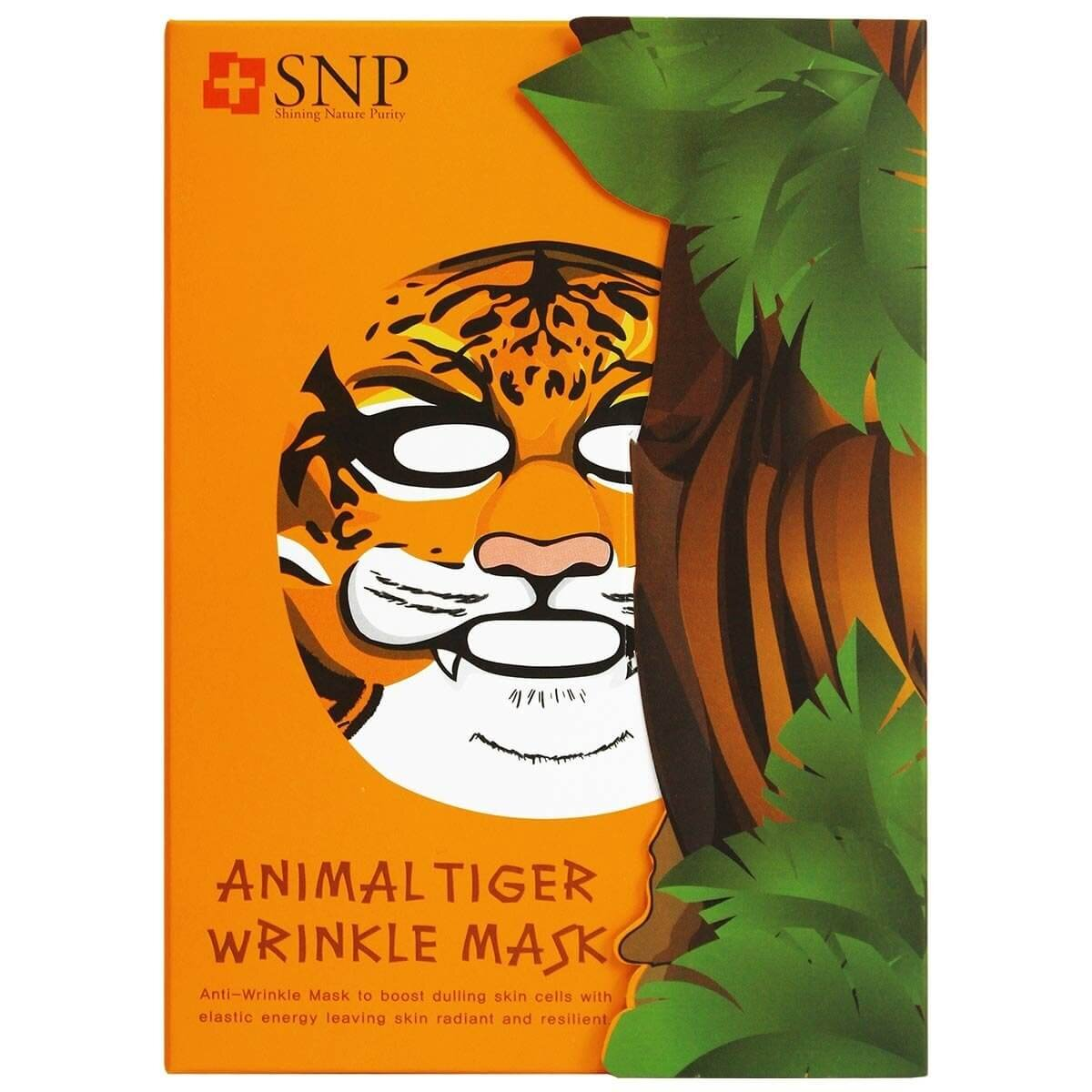 Animal Tiger Wrinkle Maske 25ml