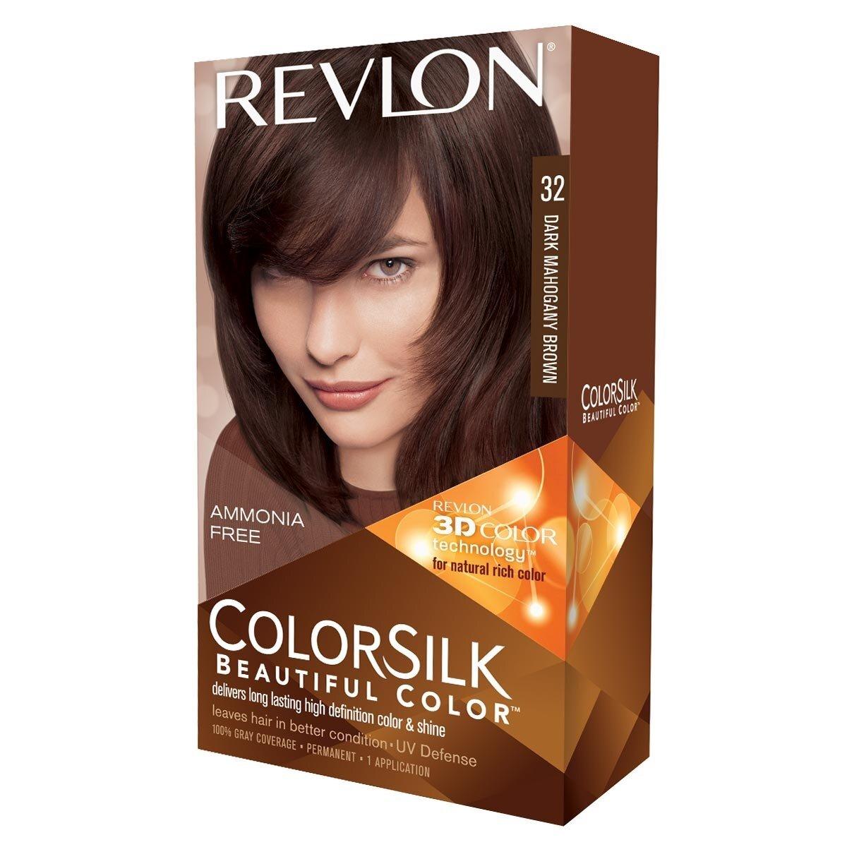 Colorsilk Saç Boyası Koyu Mahogany Kahverengi 32