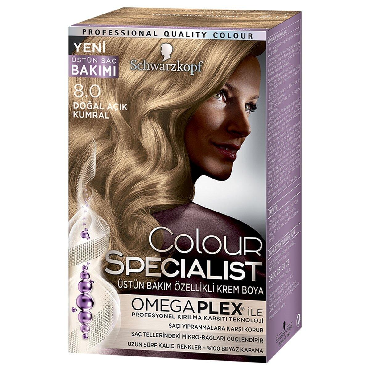 Colour Specialist Saç Boyası Doğal Açık Kumral 8-0