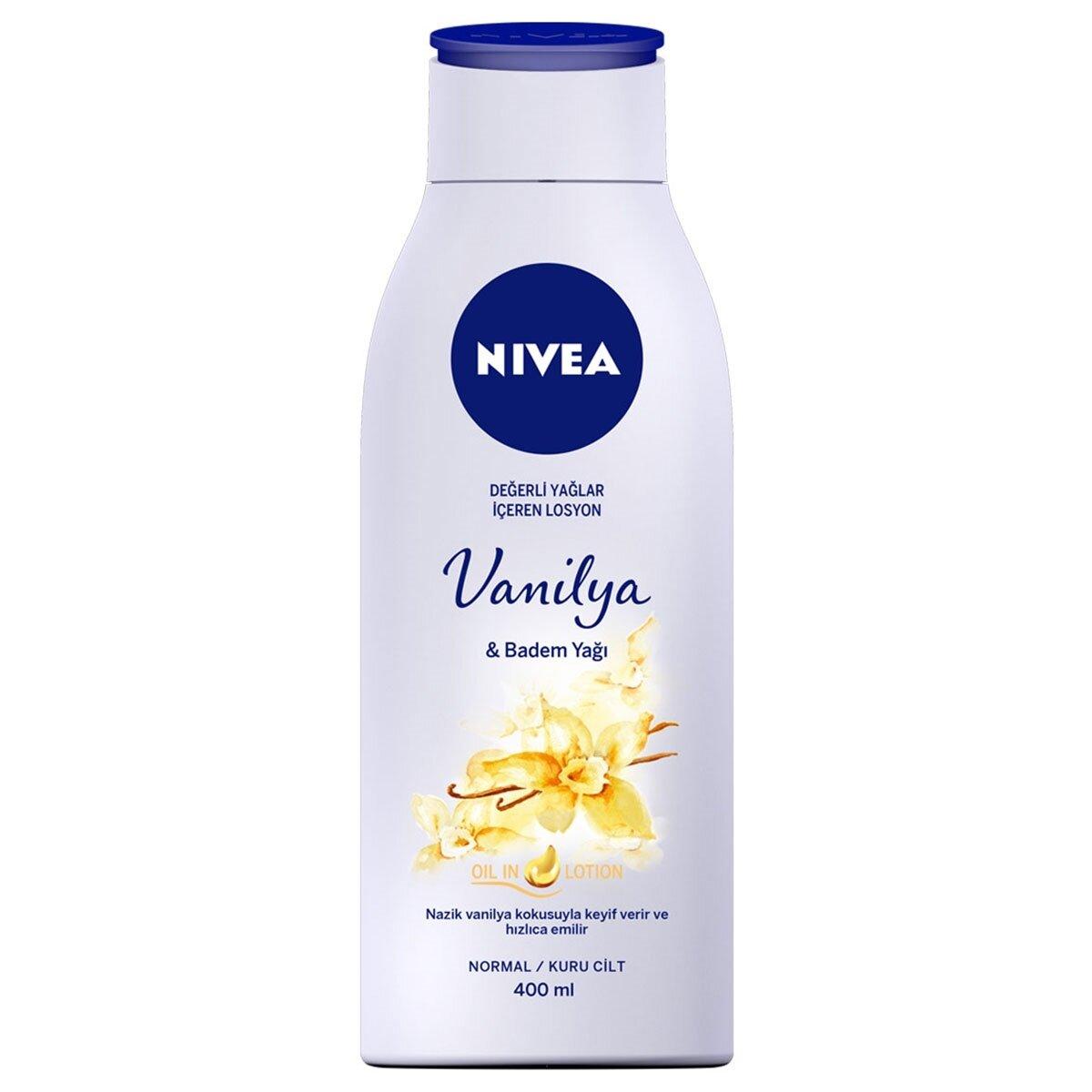 Vanilya ve Badem Yağlı Losyon 400 ml