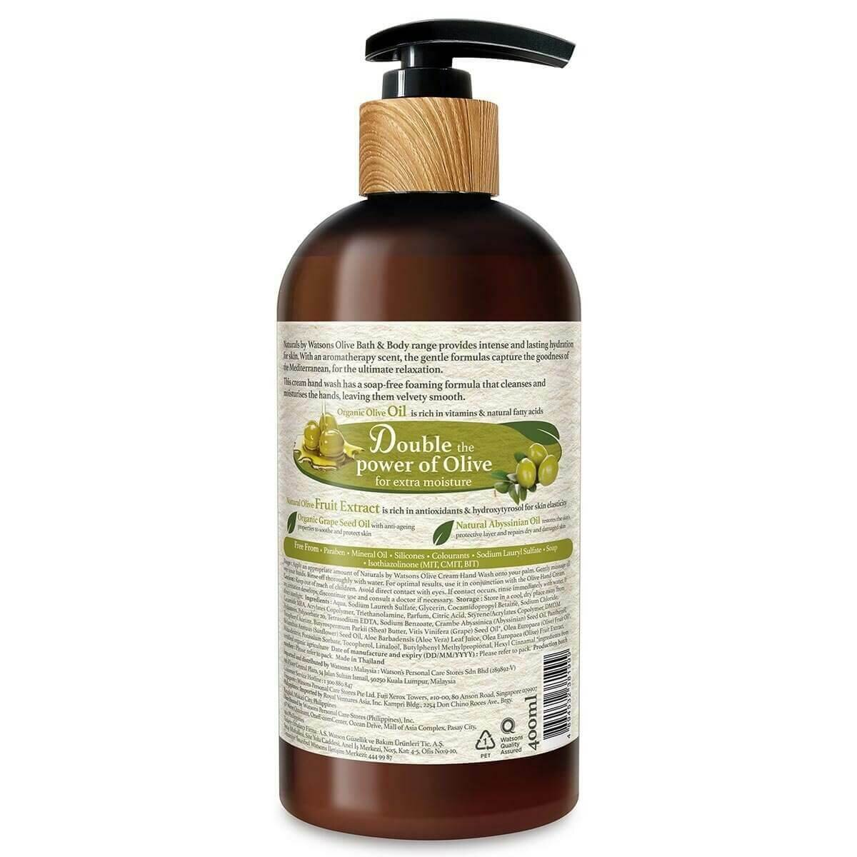 Olive Krem Sıvı Sabun 400 ml
