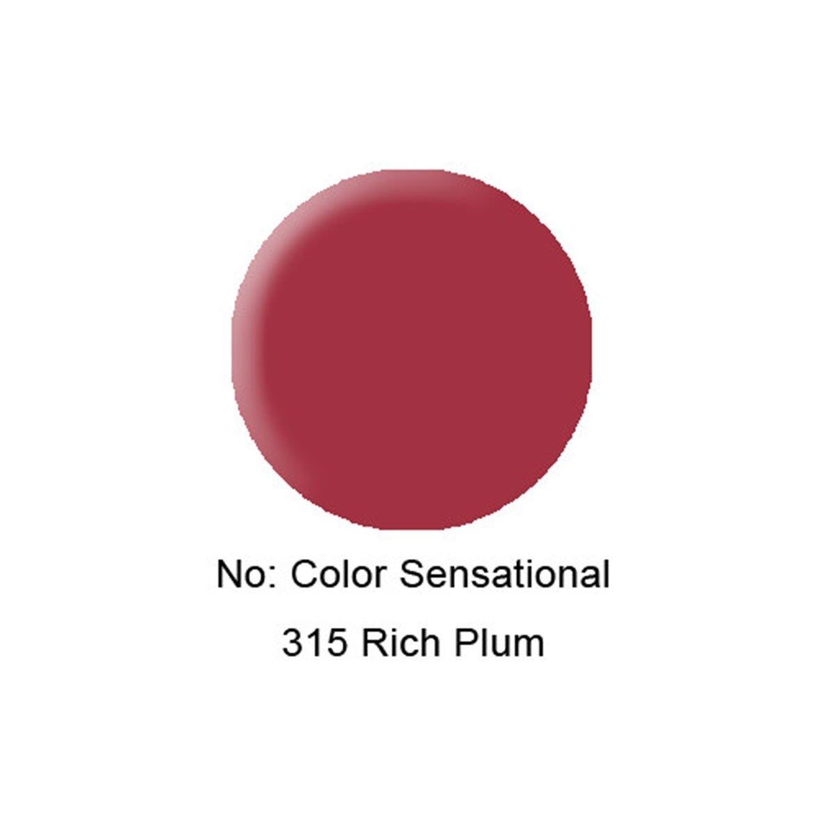 Color Sensational Ruj 315 Rich Plum