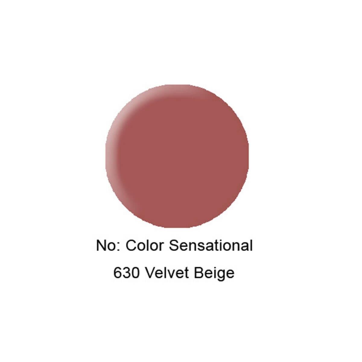 Color Sensational Ruj 630 Velvet Bej