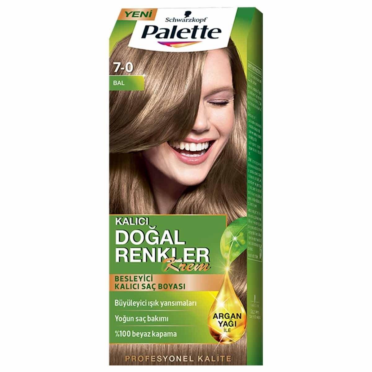 Natural Colors Saç Boyası 7-0 Bal