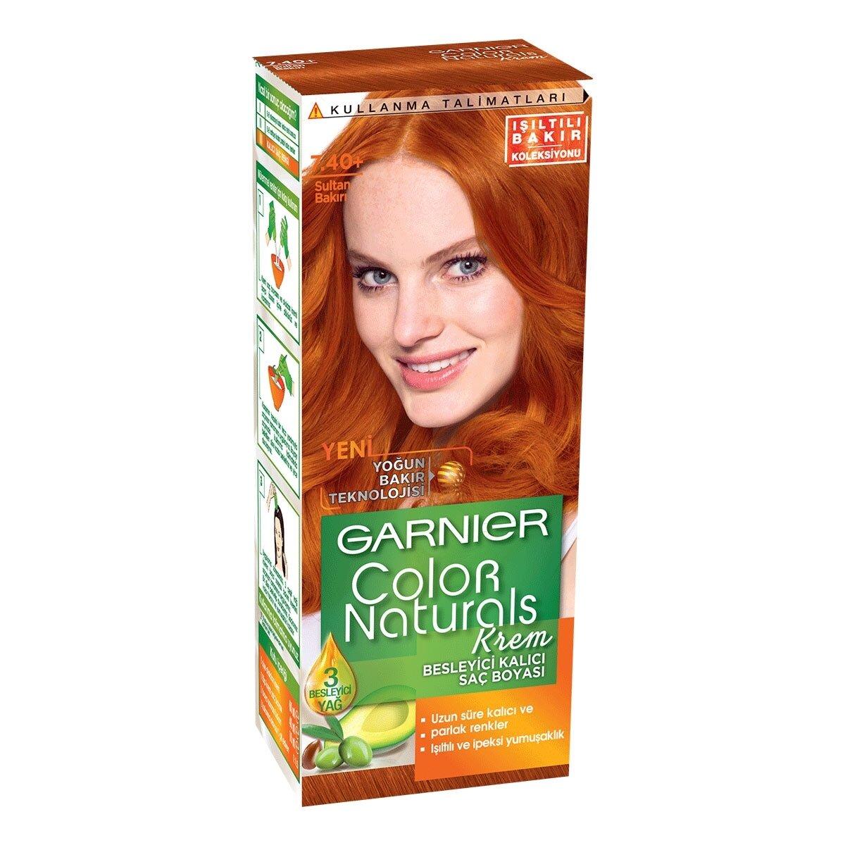 Color Naturals Saç Boyası 7.4 Sultan Bakıri
