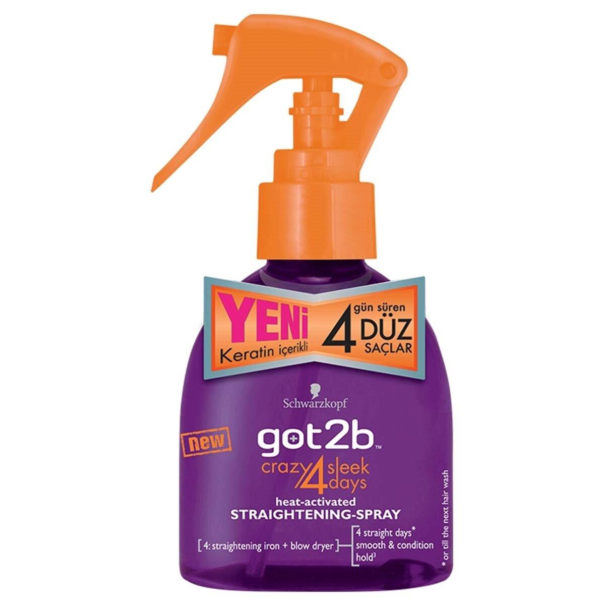 Straight On 4 Days Düzleştirici Saç Spreyi 200 ml