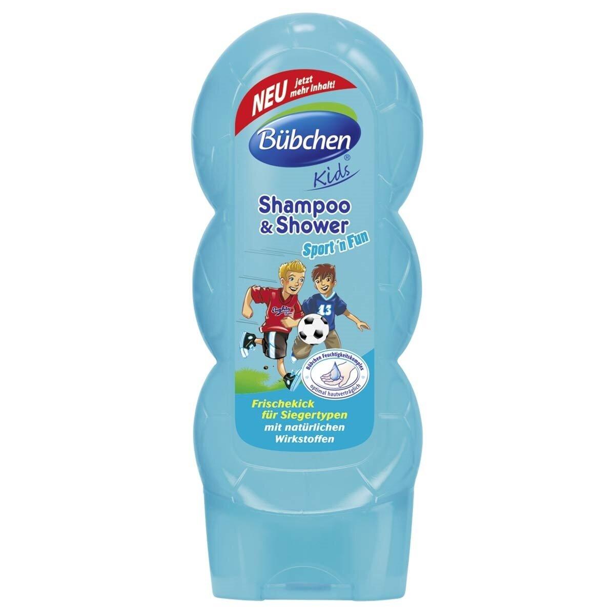 Sport Şampuan ve Duş Jeli 230ml