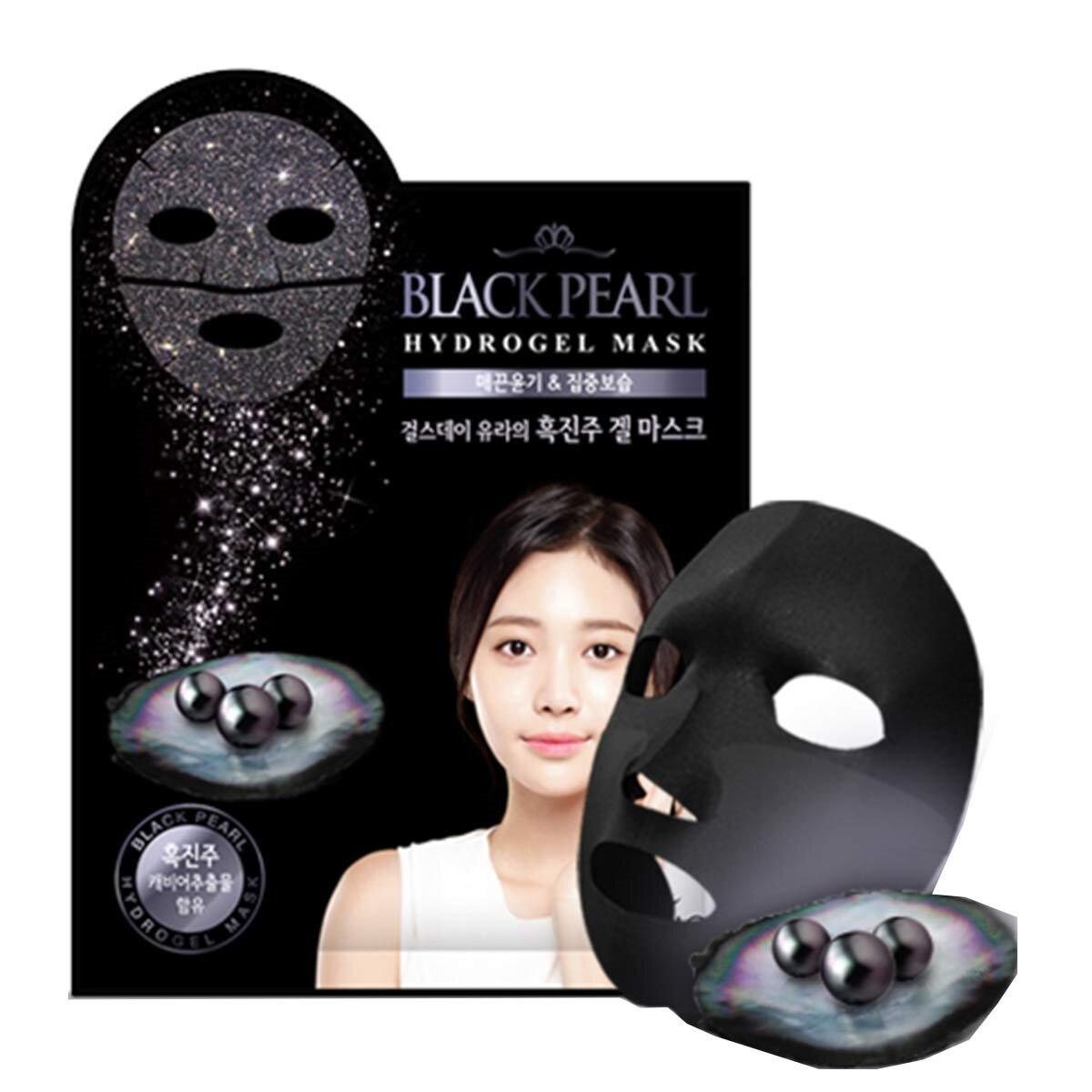 Black Pearl Hydrogel Maske