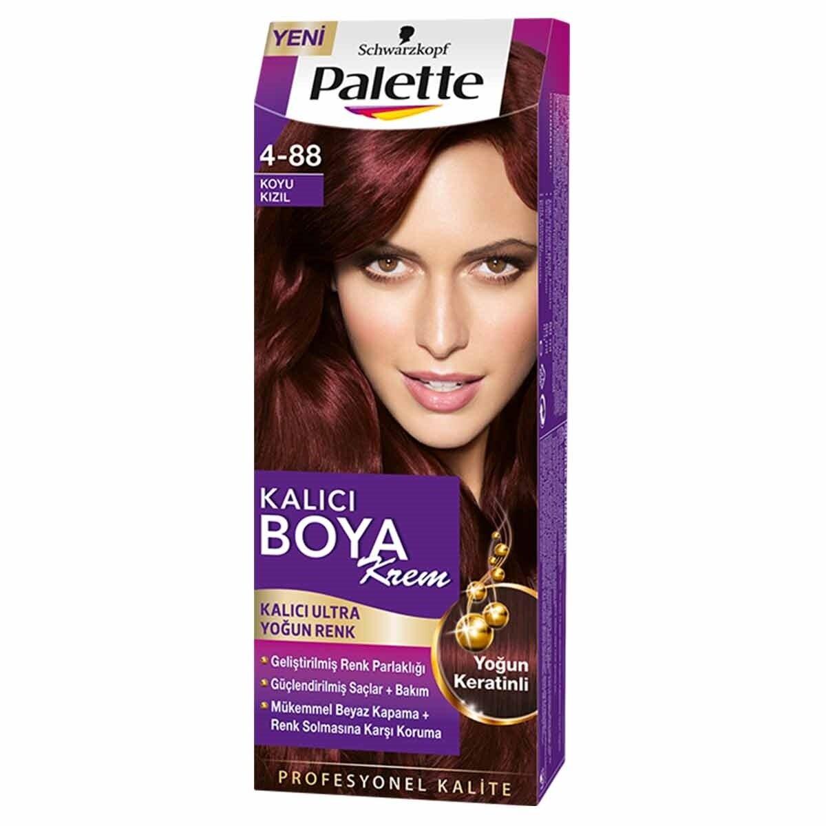 Natural Colors Saç Boyası Göz Alıcı Renkler Koyu Kızıl 4-88