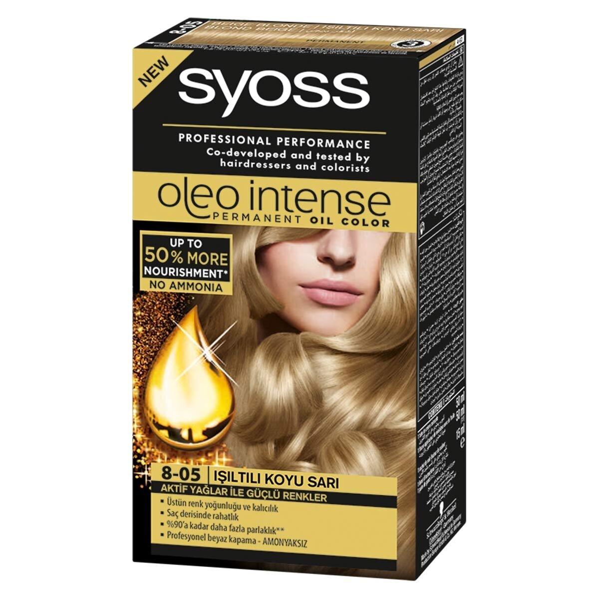 Oleo Saç Boyası 8-05