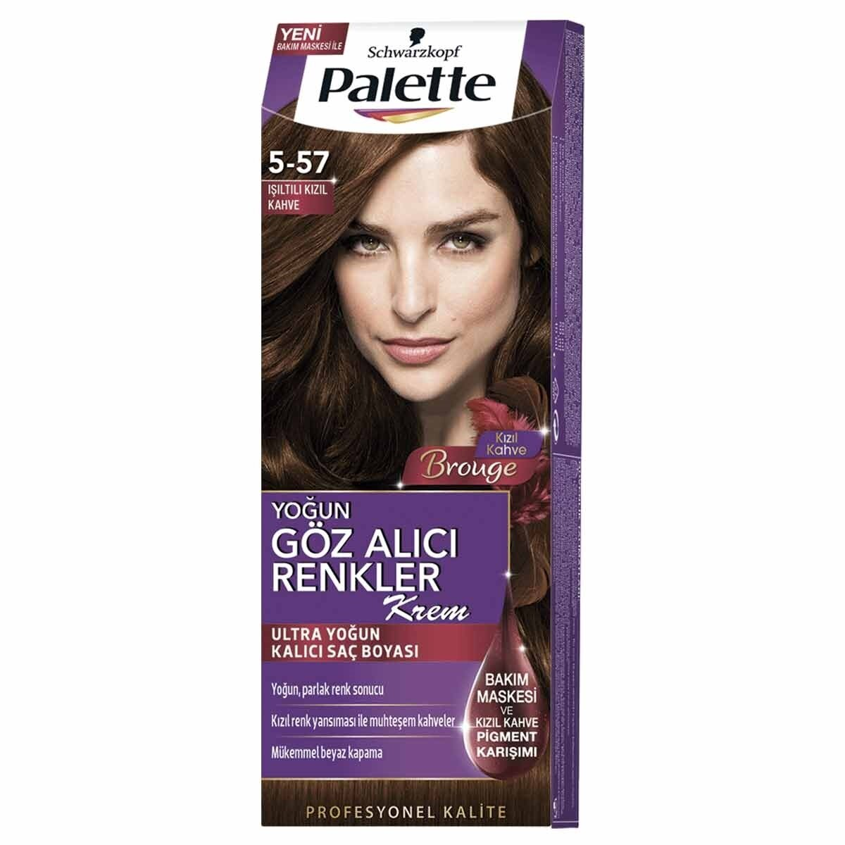 Natural Colors Saç Boyası Göz Alıcı Renkler Kızıl Kahve 5-57