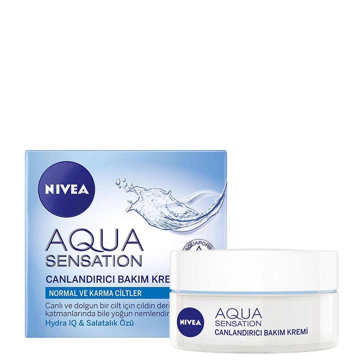 Visage Aqua Sensation Yüz Kremi 50 ml