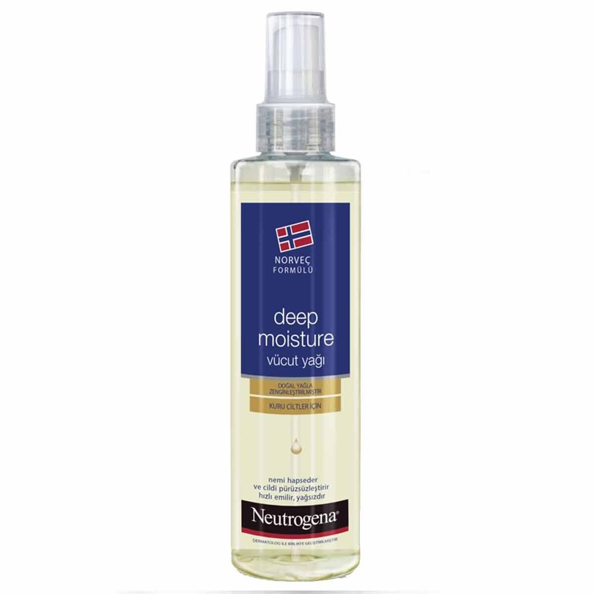 Body Oil Moist Losyon 250 ml