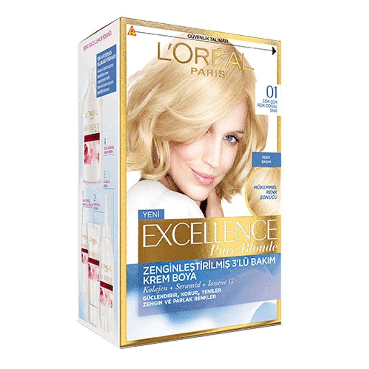 Saç Boyası Blonde Supreme Çok Çok Açık Doğal Sarı