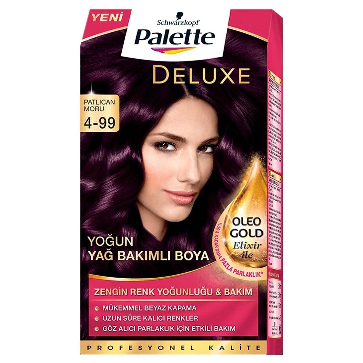 Deluxe Saç Boyası 4-99 Patlıcan Moru