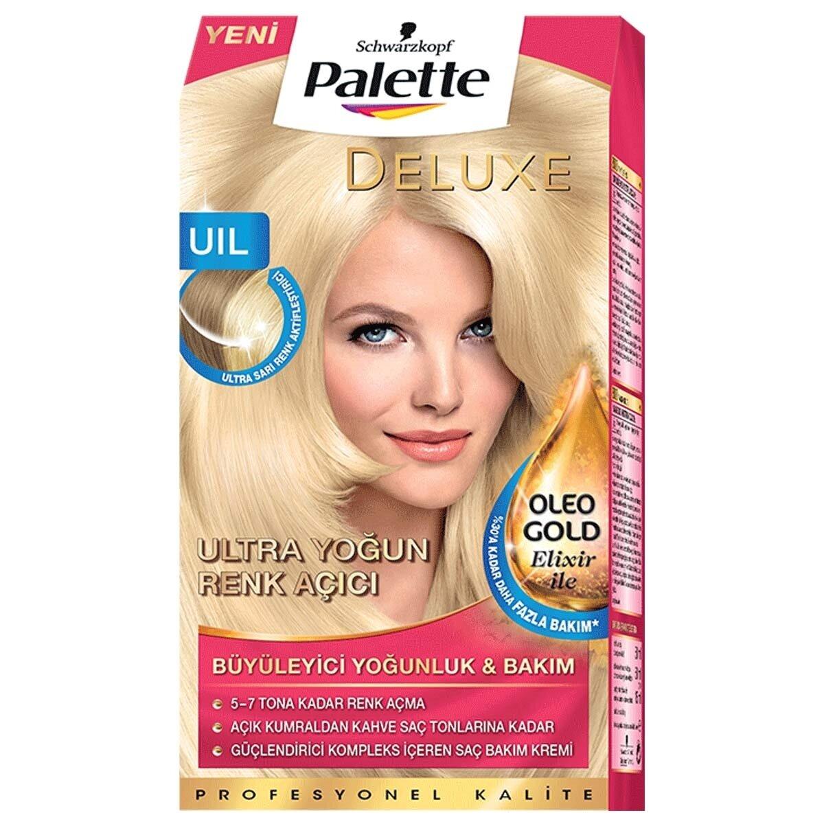 Deluxe Saç Boyası Yoğun Renk Açıcı