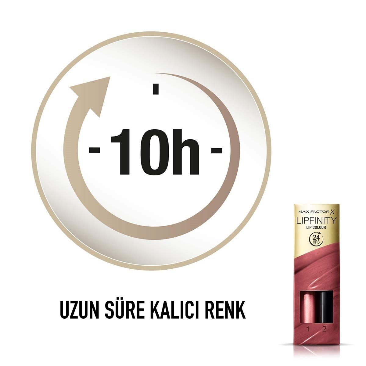 Lipfinity Lipstick Ruj No. 102