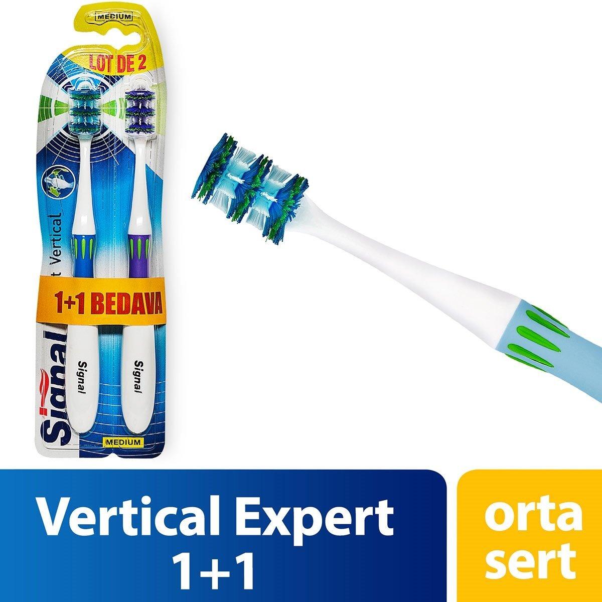 Vertical Expert Diş Fırçası 1+1