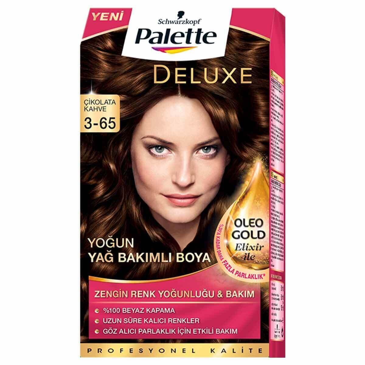 Deluxe Saç Boyası 3-65 Çikolata Kahve