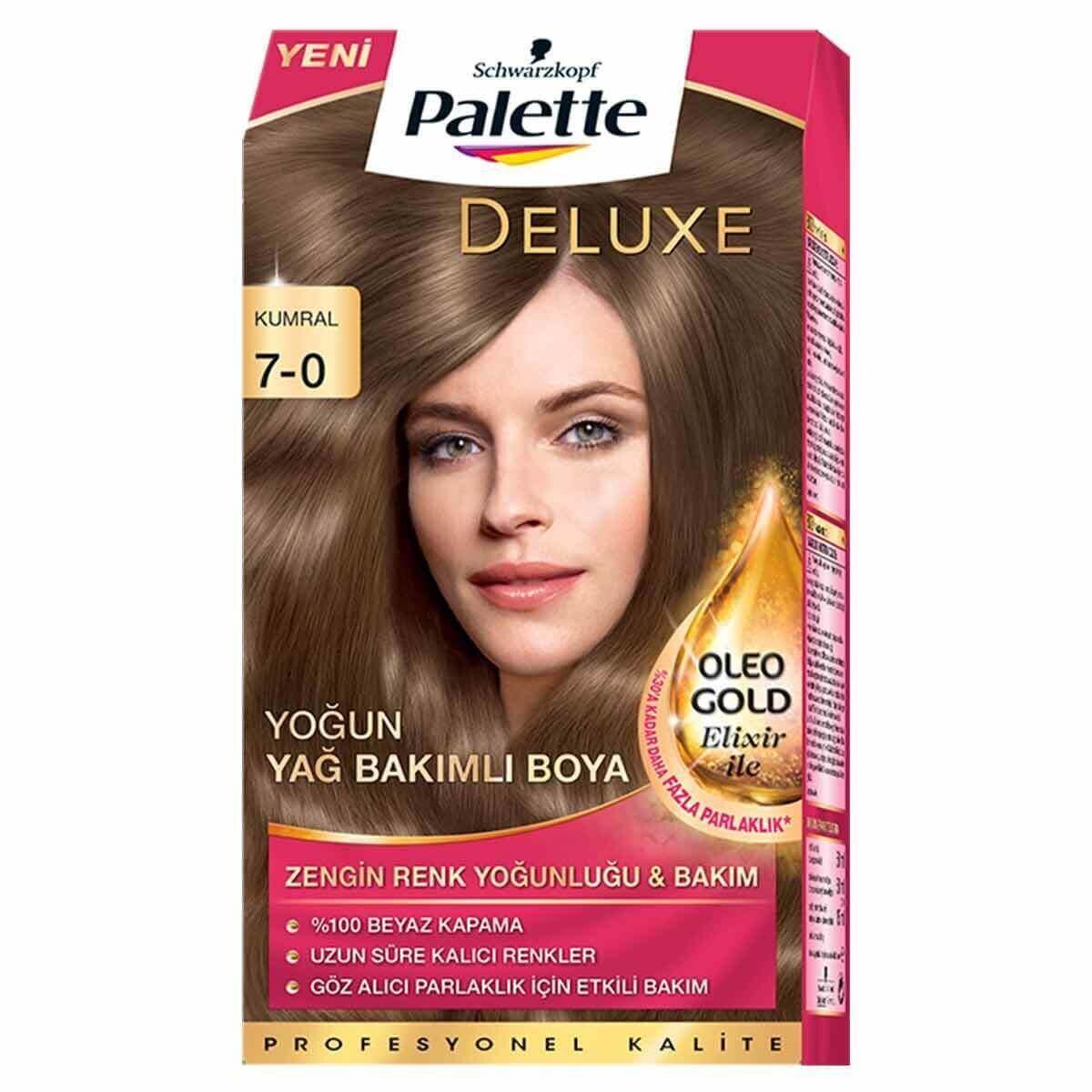 Deluxe Saç Boyası 7-0 Kumral