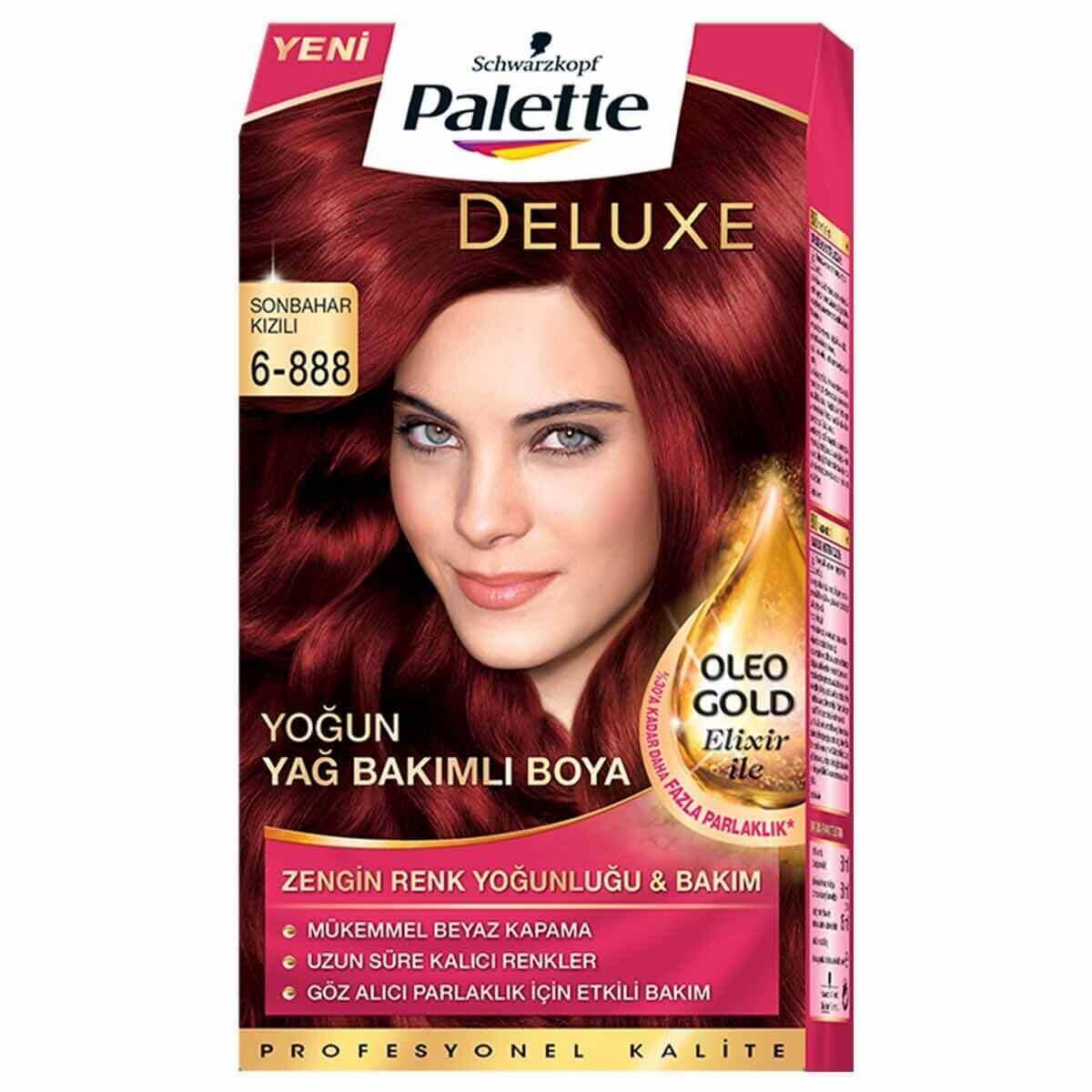 Deluxe Saç Boyası 6-888 Sonbahar Kızılı