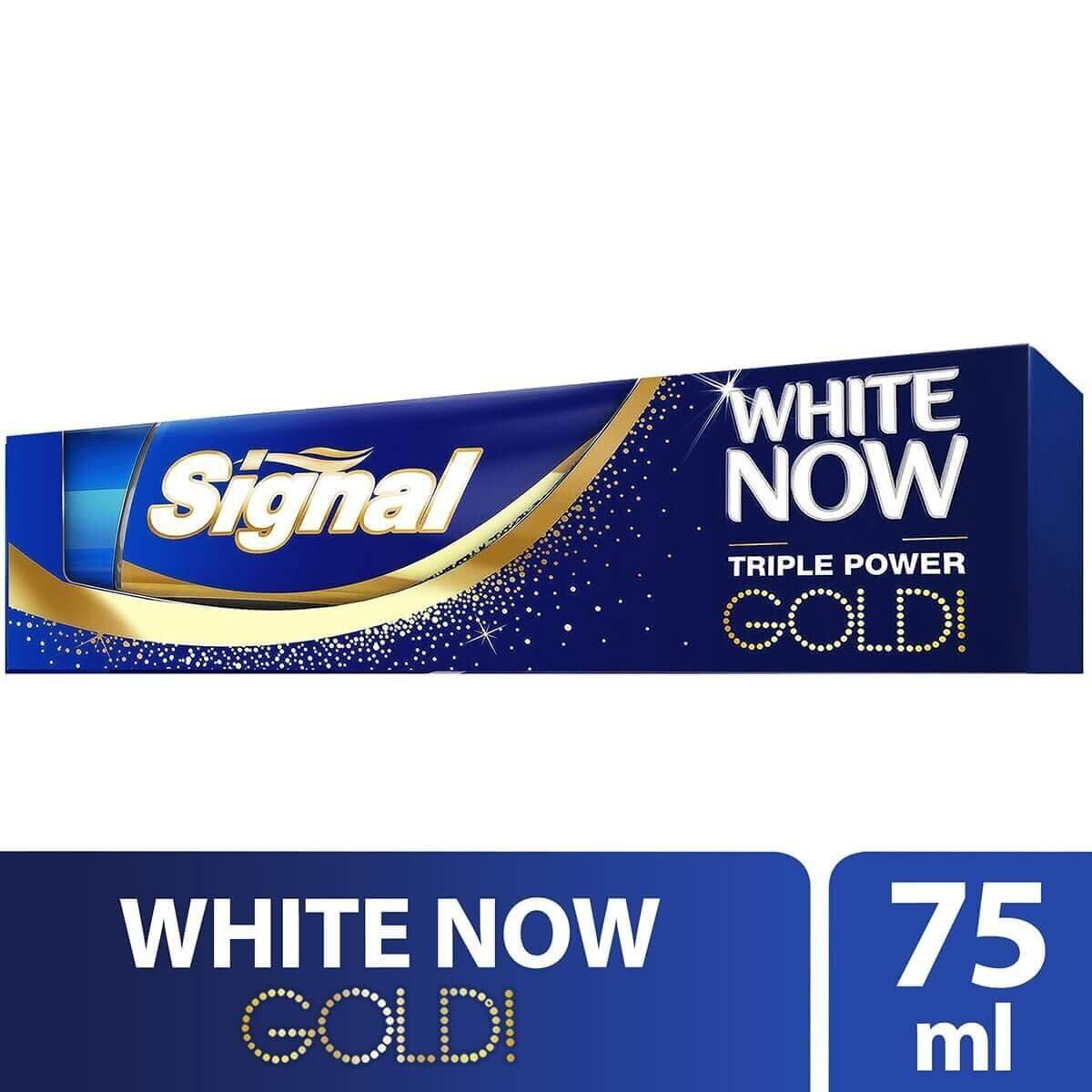 Anında Beyazlık Gold Diş Macunu  75ml