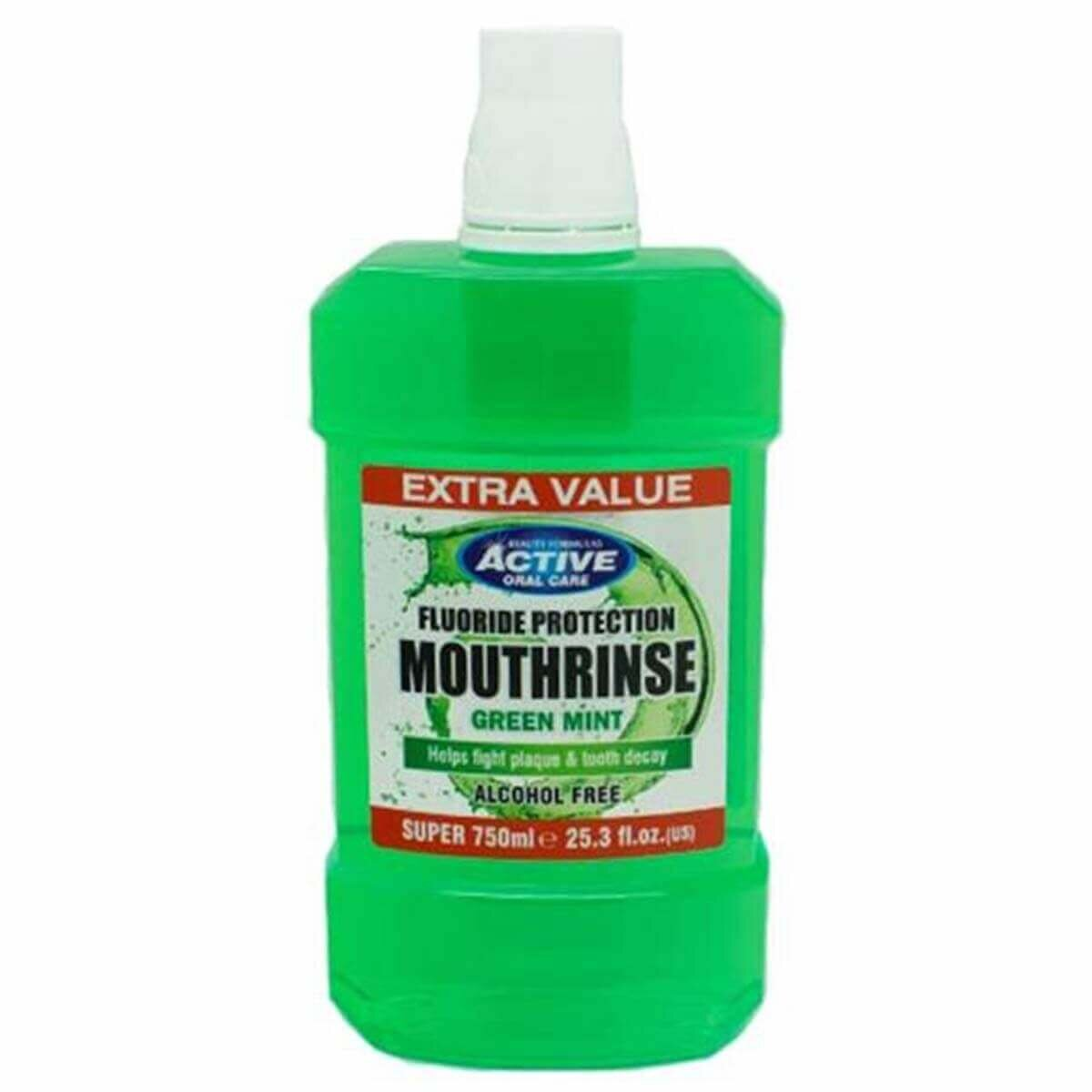 Mouthrinse Green Mint 750ml
