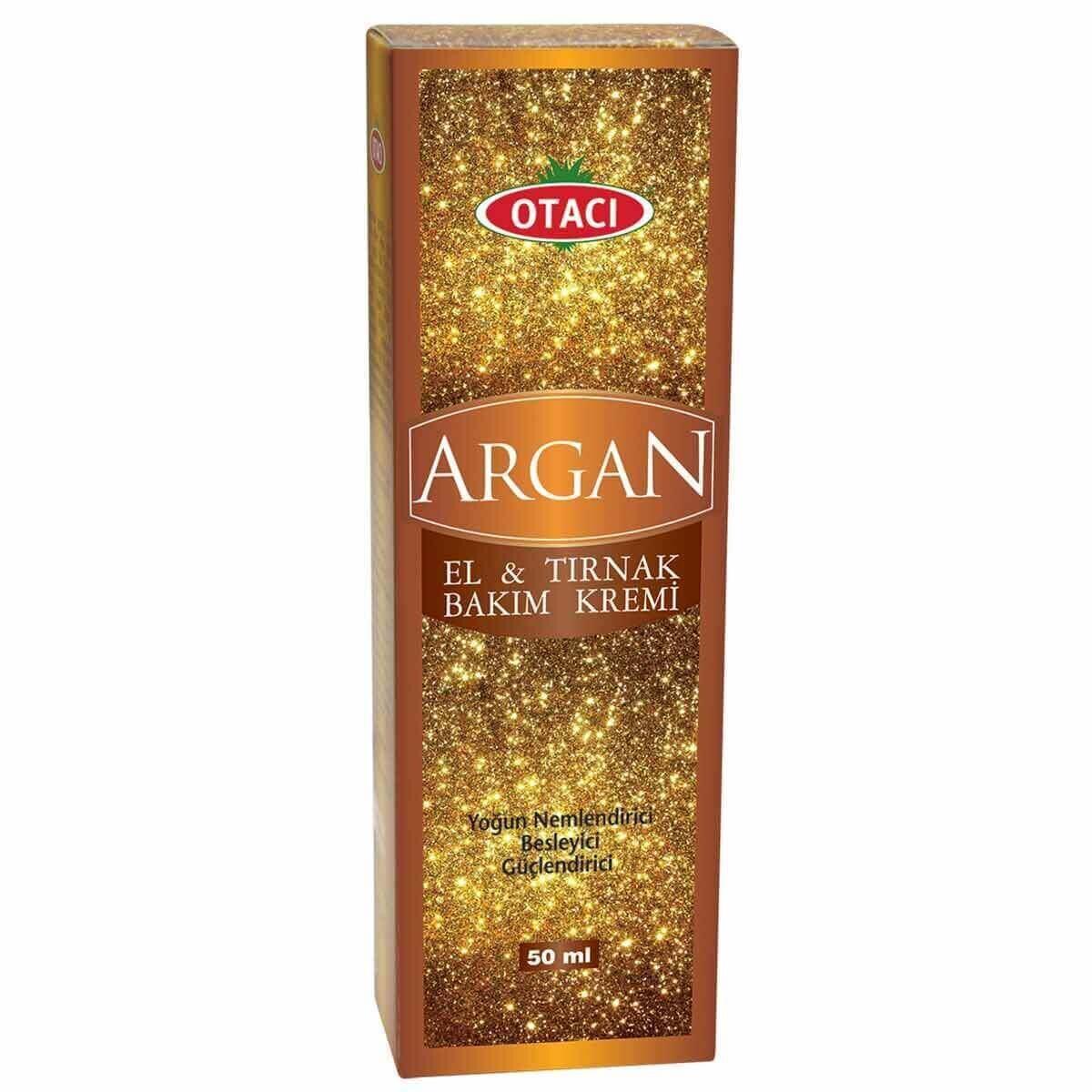 Argan El ve Tırnak Bakım Kremi 50 ml