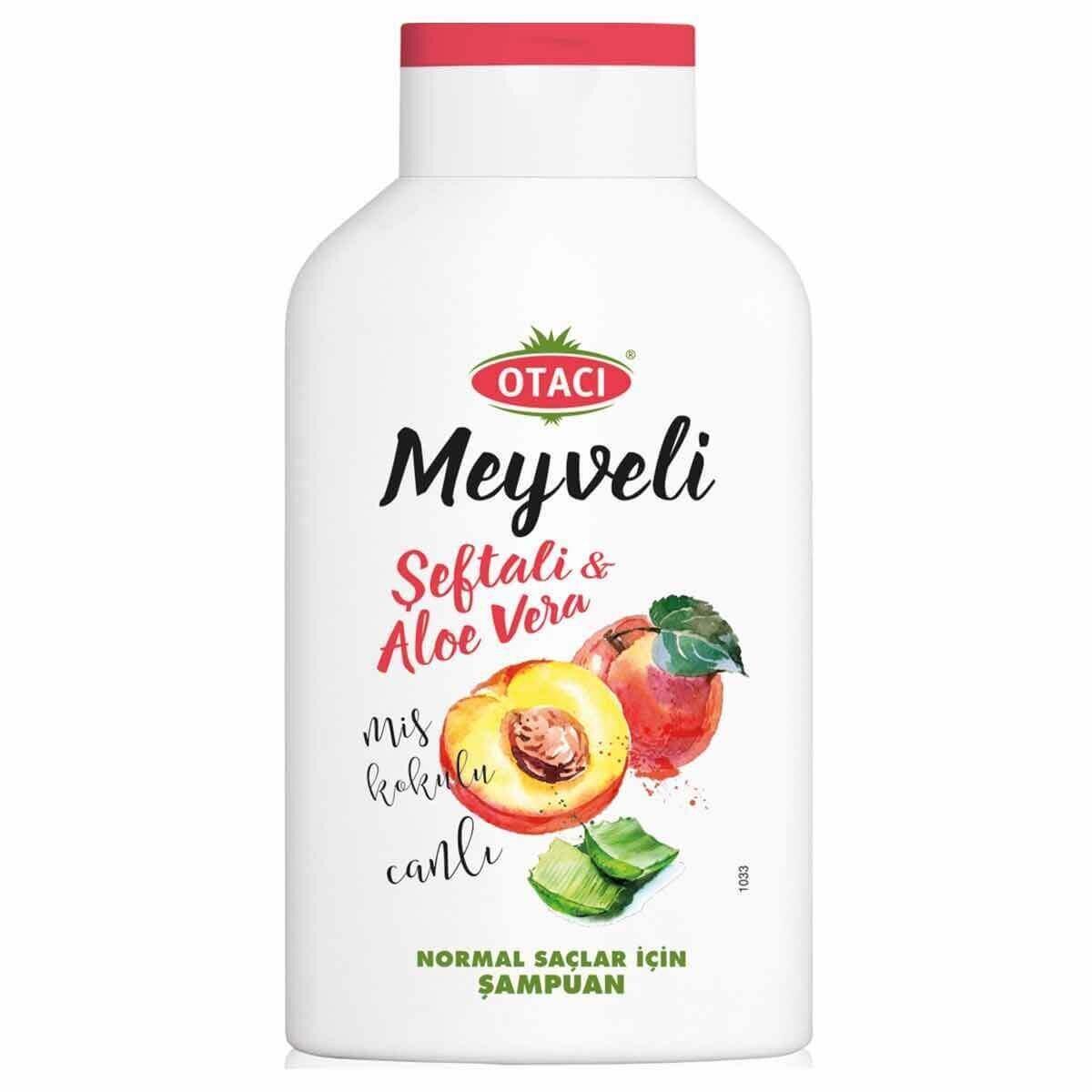 Meyveli Şeftali Aloe Vera Şampuan 400 ml