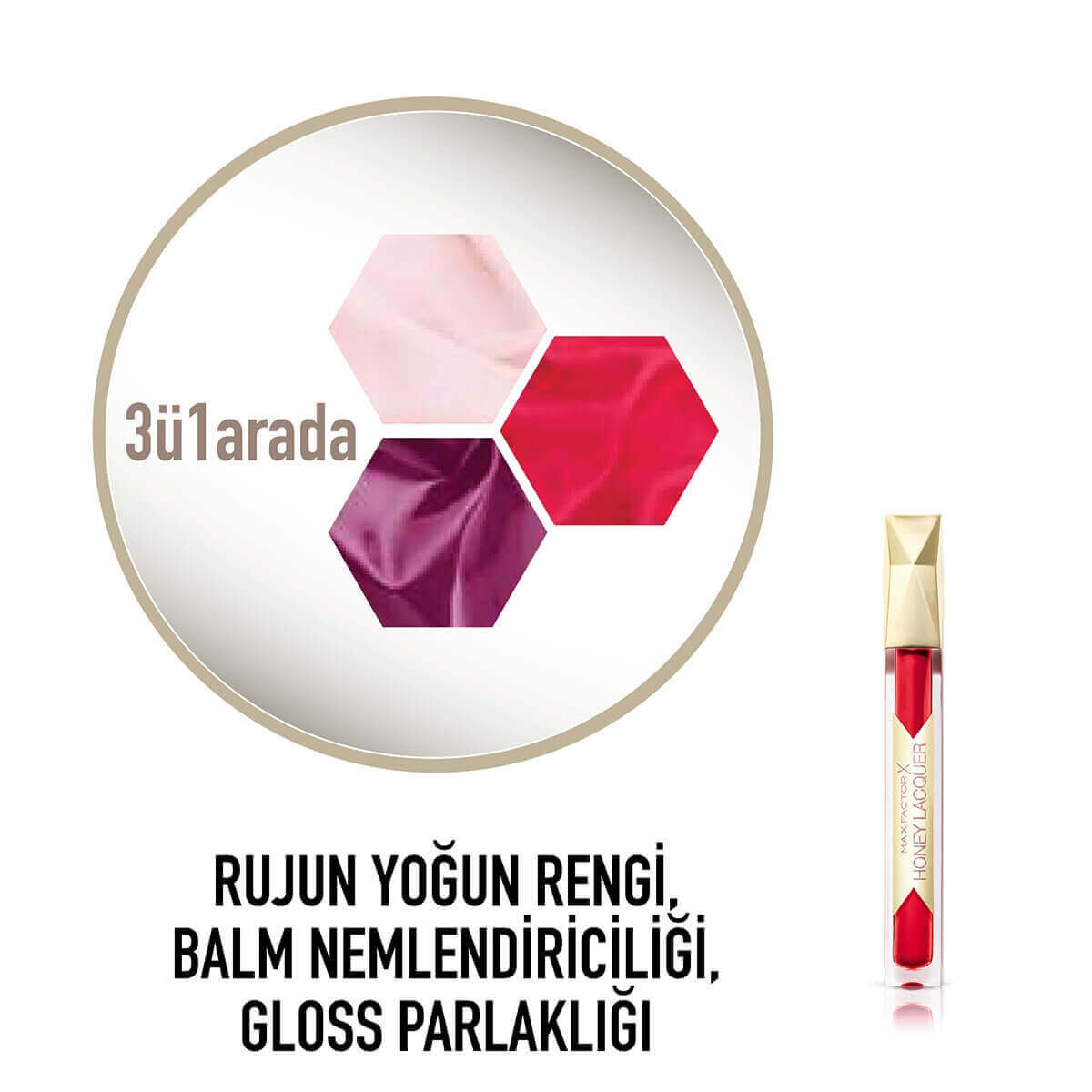 Honey Lacquer Gloss Floral Ruby 25