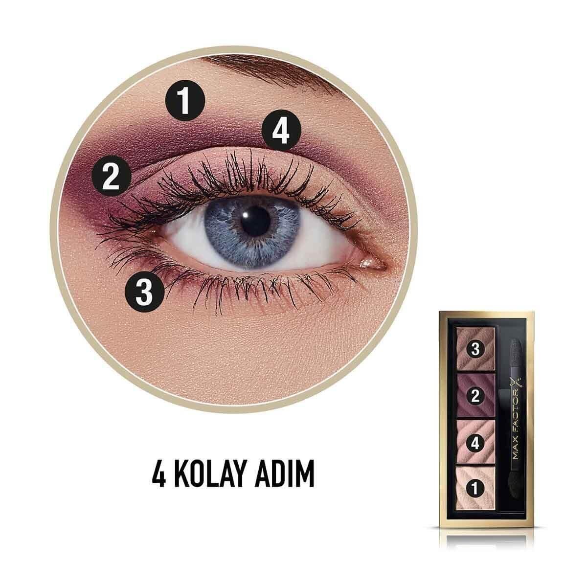 Smokey Eye Matte Kit 4'lü Far Paleti 20 Rich Roses