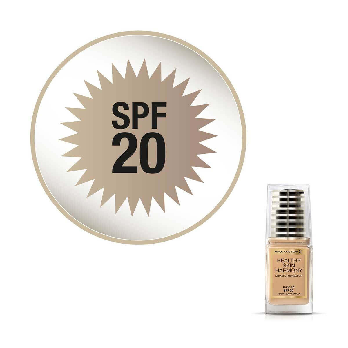 Healthy Skin Harmony Fondöten 47 Nude