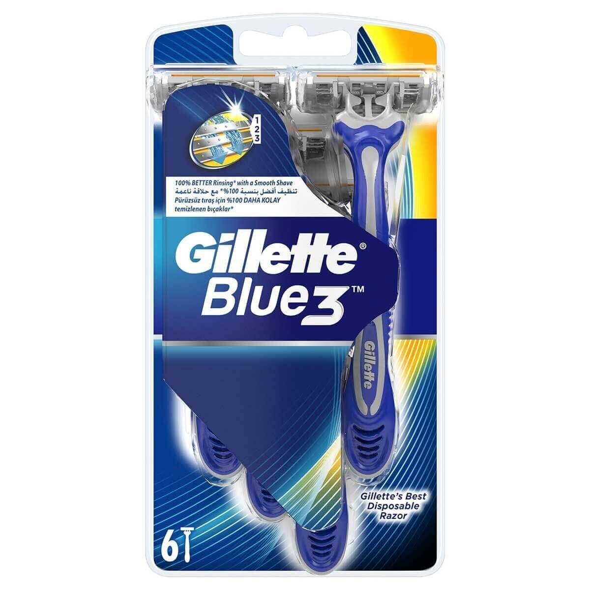 Blue3 Kullan At Tıraş Bıçağı 6'lı
