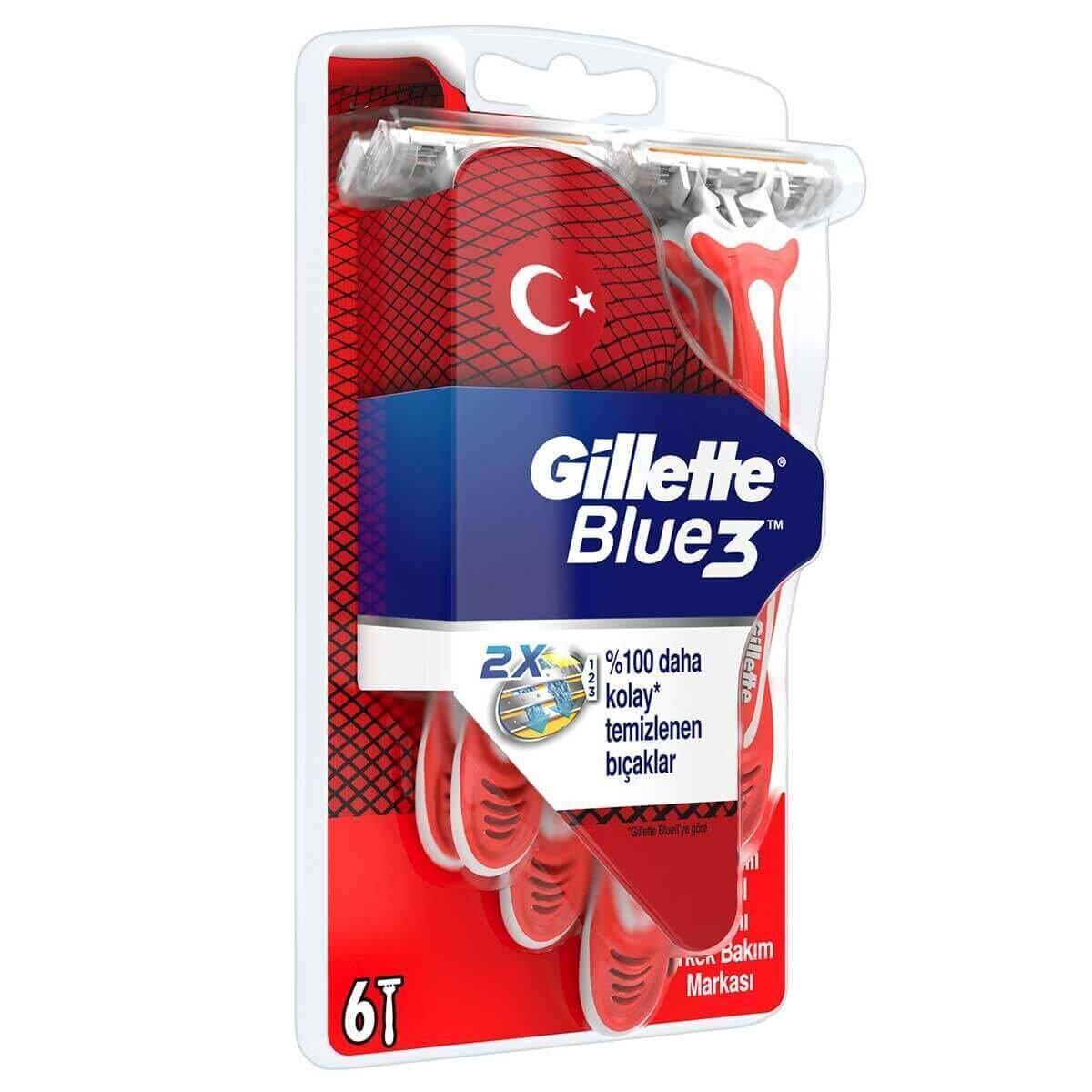 Blue3 Pride Kullan At Tıraş Bıçağı 6'lı