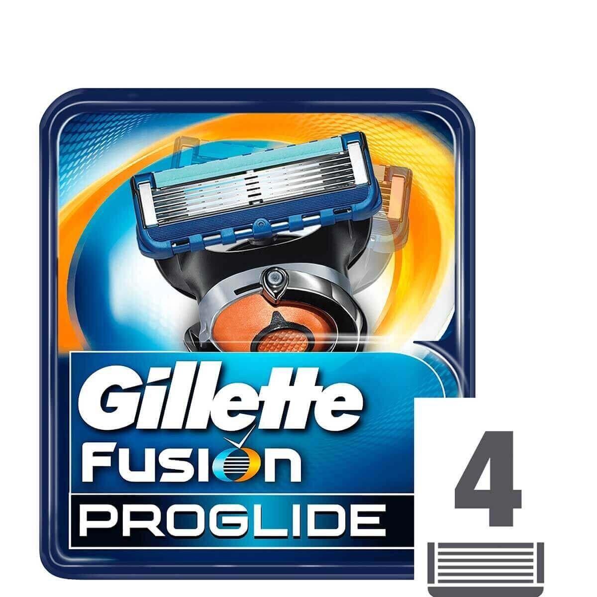 Fusion ProGlide Yedek Tıraş Bıçağı 4'lü