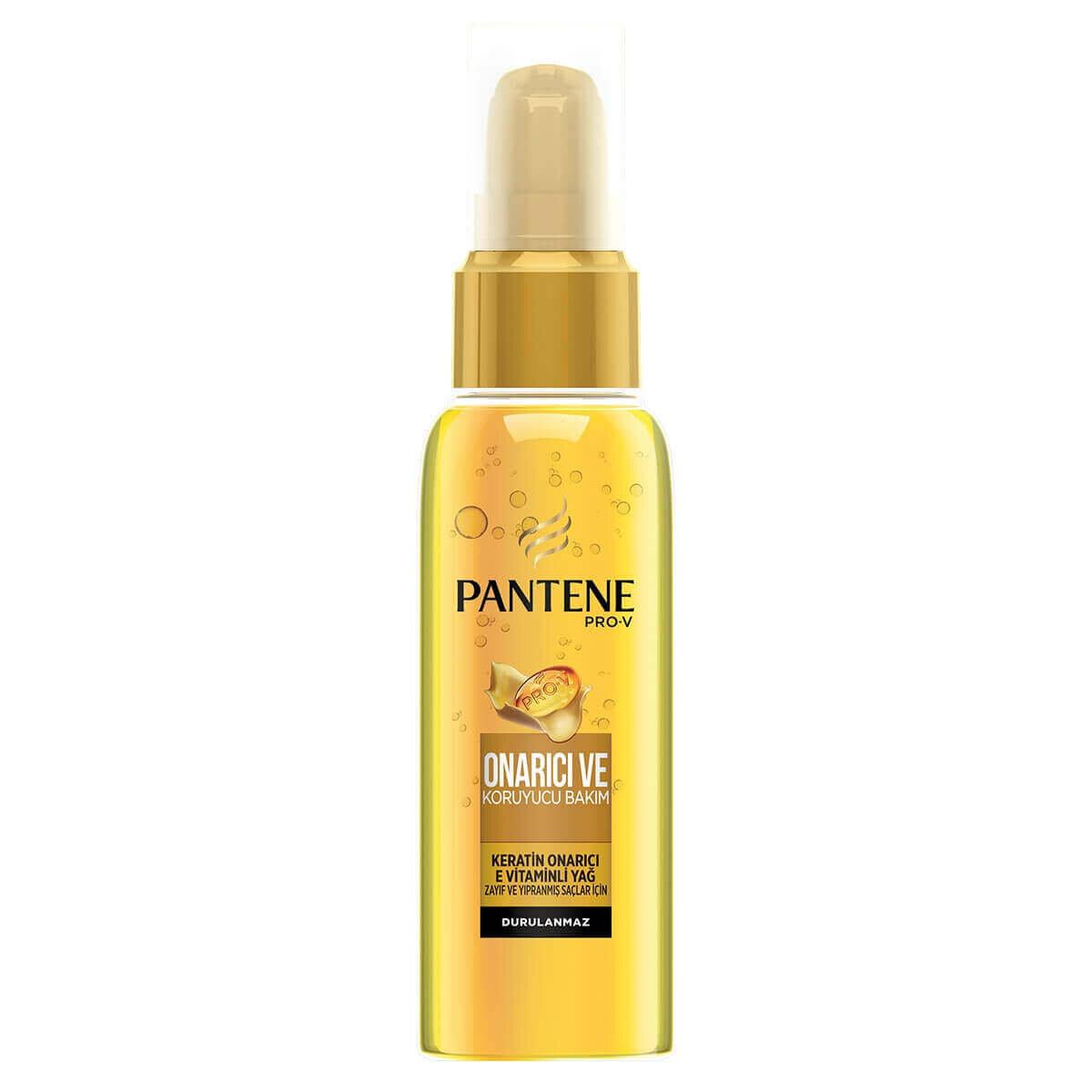 Keratin Özlü Onarıcı E Vitaminli Saç Bakım Yağı 100 ml