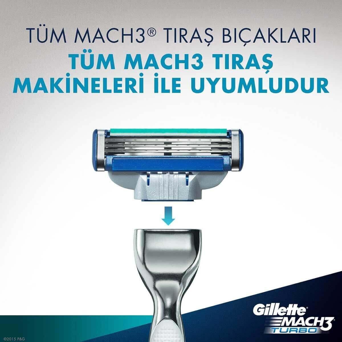 Mach3 Turbo Tıraş Makinesi