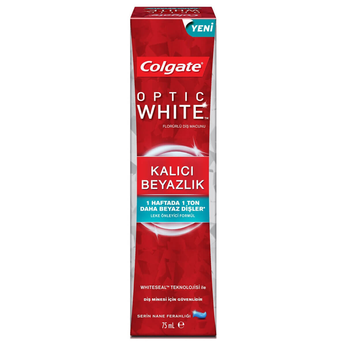 Optic White Kalici Beyazlik Diş Macunu 75ml