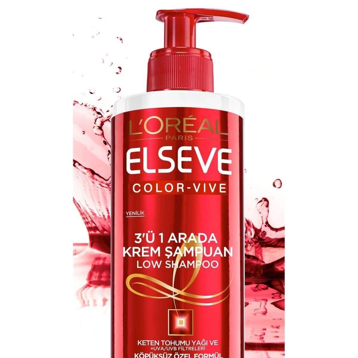 Color-Vive 3'ü 1 Arada Krem Şampuan