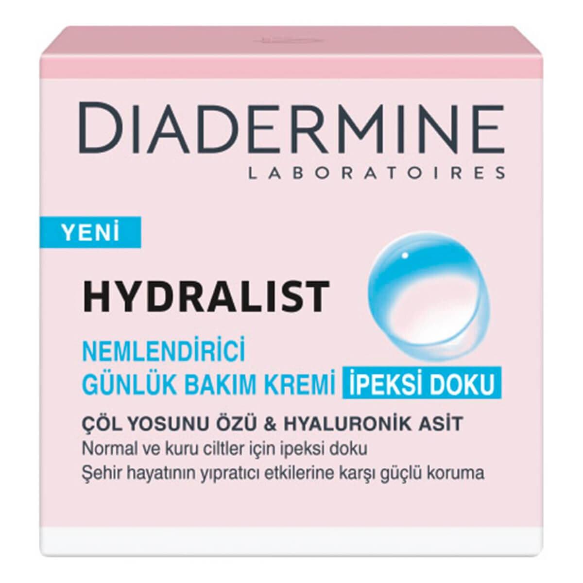 Hydralist Nemlendirici Bakım Kremi İpeksi Doku 50 ml