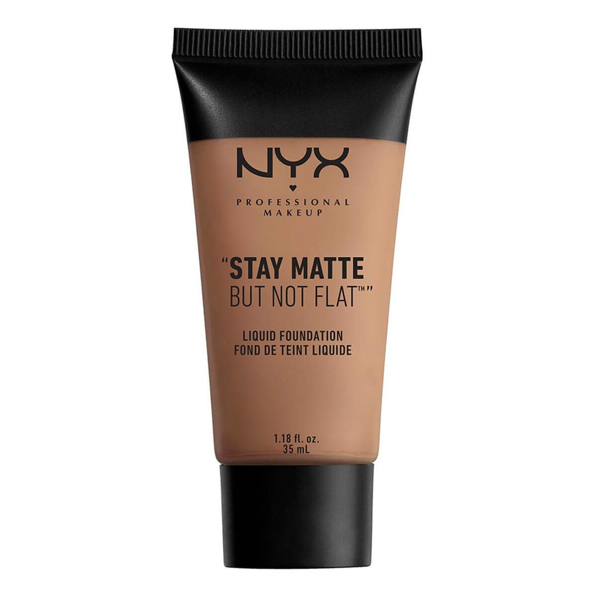 Stay Matte But Not Flat Liquid Foundation Chestnut