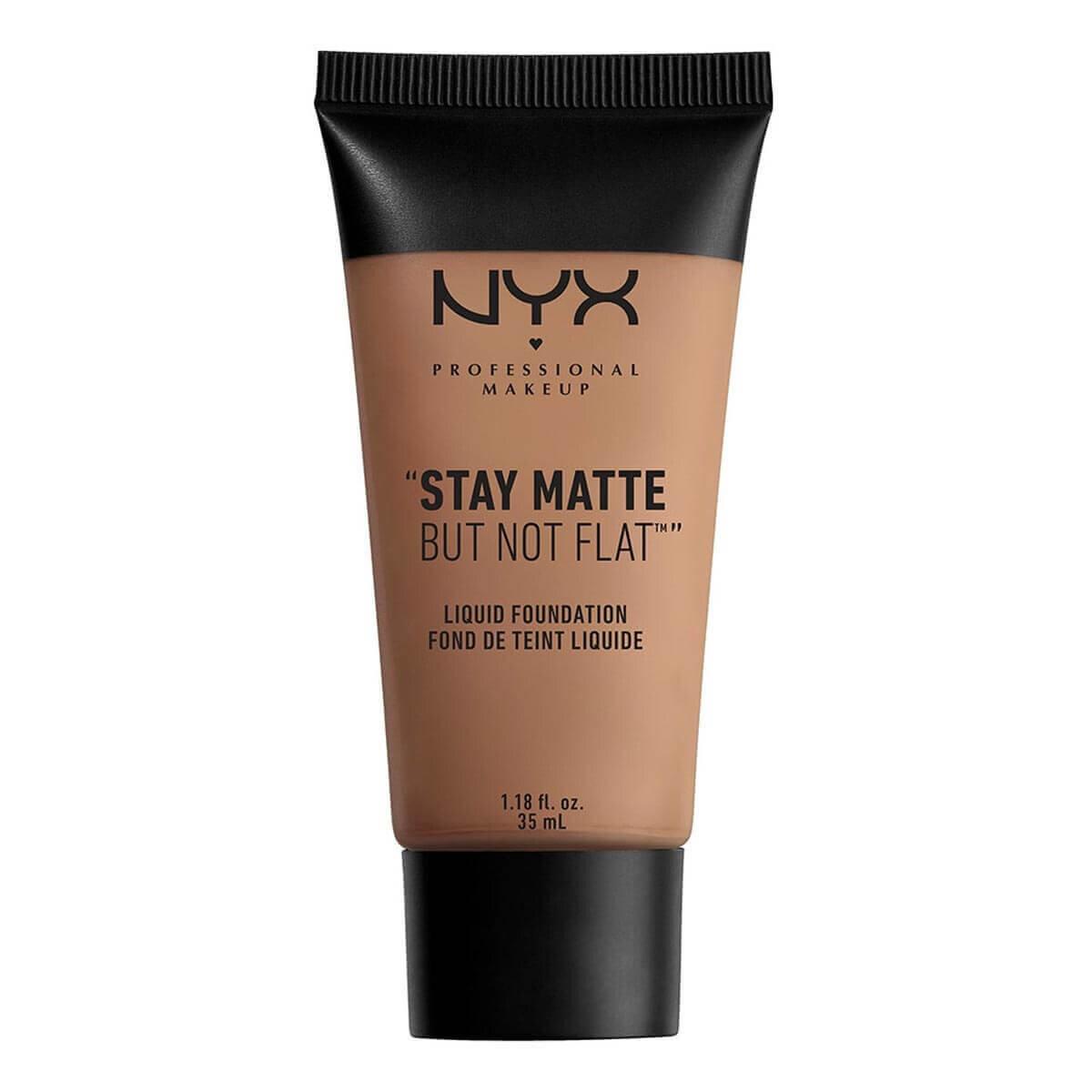 Stay Matte But Not Flat Liquid Foundation Chestnut